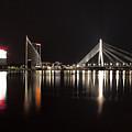 Vansu Bridge Riga by Christian Hallweger