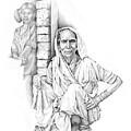 Varanasi Woman by Karla Beatty