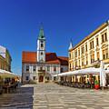 Varazdin Main Square, Croatia by Elenarts - Elena Duvernay photo