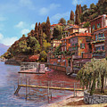 Varenna On Lake Como by Guido Borelli