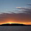 Variations Of Sunsets At Gulf Of Bothnia 1 by Jouko Lehto