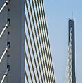 Varina Enon Bridge In Va by Skip Willits