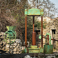 Various Old Rusty Vintage Agricultural Devices In Croatia by Stefan Rotter