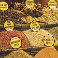 Various Spices by Bob Phillips