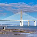 Vasco Da Gama Bridge by Dvoevnore Photo
