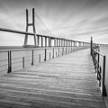 Vasco Da Gama Bridge by Lev Savitskiy