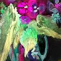 Vase Dancing In The Night by Miki De Goodaboom