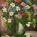 Vase Of Flowers #1 by Melissa Suzanne Ryan