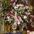 Vase Of Flowers, 1871  by Pierre Auguste Renoir