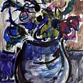 Vase Of Flowers by Katt Yanda