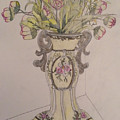 Vase by Raymond Samuel