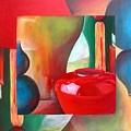 Vases by Muriel Dolemieux