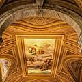 Vatican Museum Painted Ceiling by Carolyn Derstine