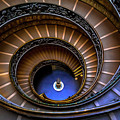 Vatican Staircase by Stephen Bridger