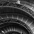 Vatican Stairs by Julian Perry