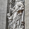 Vatican Statue by Bill Hamilton