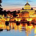 Vatican's St. Peter's by Dennis Cox