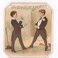 Vaudville Sports by Carol Burnworth