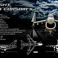 Vaught A-7a Corsair II by Richard Hamilton