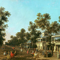 Vauxhall Gardens the Grand Walk by Canaletto