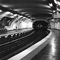 Vavin Station Paris Metro by Gordon Lukesh
