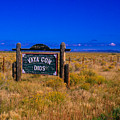 Vaya Con Dios Sign San Luis Valley Co by Troy Montemayor