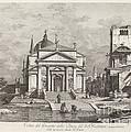 Veduta Del Prospetto Della Chiesa Del Ss. Redentore by Fabio Berardi After Canaletto