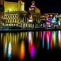Vegas Reflections by Brandon Johnson