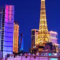 Vegas Strip At Night by John Rizzuto