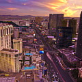 Vegas Sunset by Ches Black