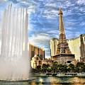 Vegas Water Show by Blake Richards