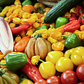 Vegetable Background by Ariadna De Raadt