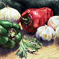 Vegetable Golly Wow by Joey Agbayani