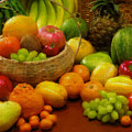 Vegetables And Fruits  by Gull G