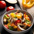 Vegetables Stir Fry by Vadim Goodwill