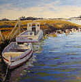 Veldrift Boats by Yvonne Ankerman