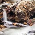 Velvet Falls - Rocky Mountain Stream by Steven Milner