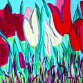 Velvet Tulips by Laurie Morgan