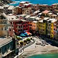 Venazza Cinque Terre Italy by Xavier Cardell