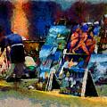 Vendedor De Pinturas by Galeria Trompiz