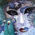 venetian carneval mask I by Leonardo Ruggieri