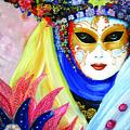 venetian carneval mask IV by Leonardo Ruggieri