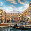 Venetian Gondola by Framing Places