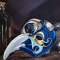 Venetian Mask by Mary Capriole