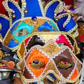 Venetian Masks by Anastasy Yarmolovich