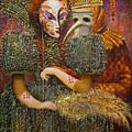 Venetian Masks by Valentina Kondrashova