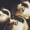 Venetian Masquerade Mask Rings by Jorgo Photography - Wall Art Gallery