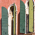 Venetian Windows by Heiko Koehrer-Wagner