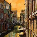 Venezia Al Tramonto by Guido Borelli