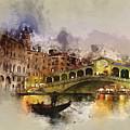 Venezia, Canal Grande by Dante Blacksmith